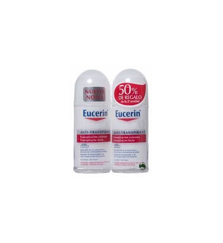 PACK EUCERIN DESODORANTE ROLL ON  ANTI TRANSPIRANTE