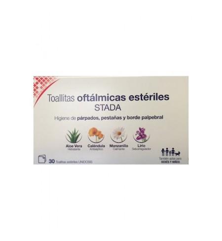 STADA TOALLITAS OFTALMICAS ESTERILES  30 TOALLITAS