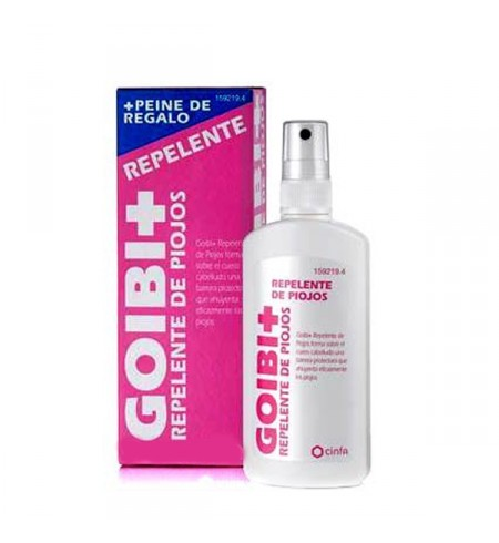 GOIBI ANTIPIOJOS PROTEGE SPRAY REPELENTE PIOJOS  125 ML