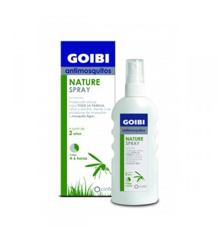 GOIBI ANTIMOSQUITOS CITRIODOL SPRAY USO HUMANO REPELENTE 100 ML