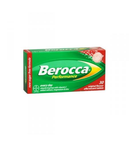 BEROCCA PERFORMANCE  FRUTOS ROJOS 30 COMP EFERV