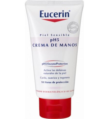 EUCERIN PIEL SENSIBLE PH-5 CREMA DE MANOS  75 ML