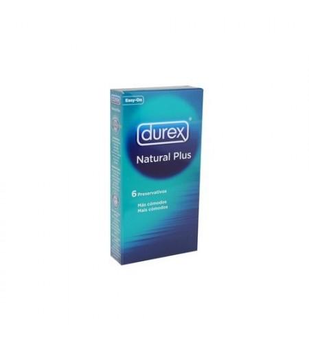 DUREX NATURAL PLUS PRESERVATIVOS 6 U