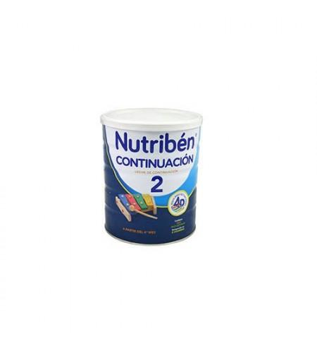 NUTRIBEN CONTINUACION  1 ENVASE 800 G