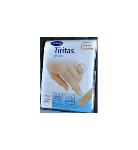TIRITAS PLASTIC APOSITO ADHESIVO 14 UNIDADES 72 MM X 19 MM
