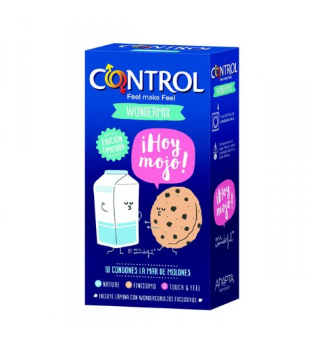 CONTROL BY MR WONDERFUL PRESERVATIVOS 10 UNIDADES