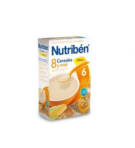 NUTRIBEN 8 CEREALES Y MIEL FIBRA  1 ENVASE 600 G