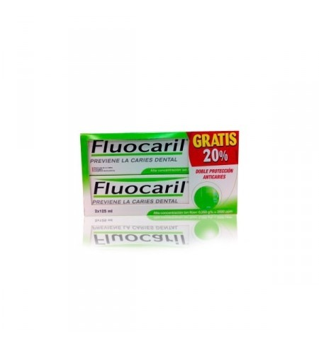 FLUOCARIL BI-FLUORE 250 DENTIFRICO  2 ENVASES 125 ML DUPLO