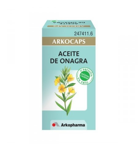 ACEITE DE ONAGRA ARKOPHARMA  50 CAPSULAS