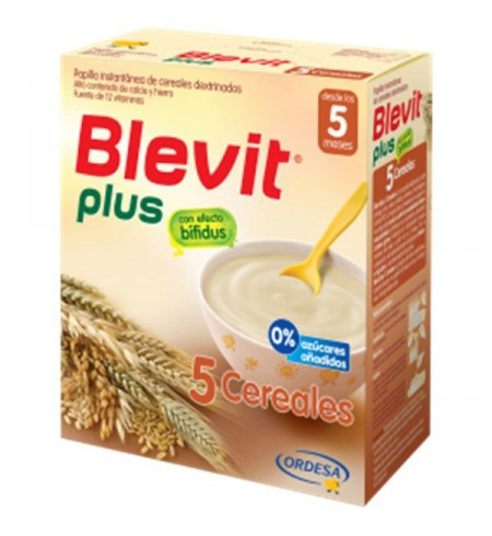 BLEVIT PLUS 5 CEREALES  1 ENVASE 300 G