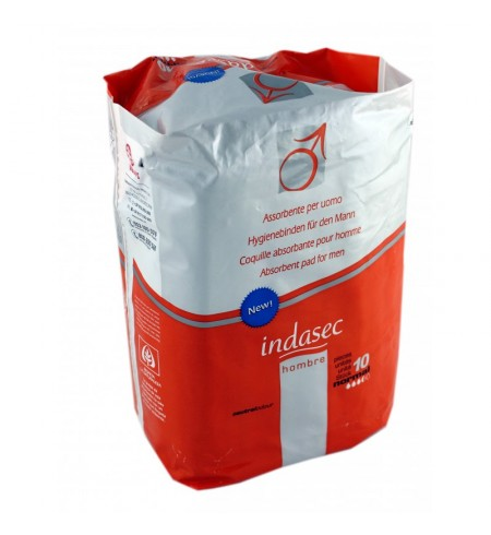 INDASEC HOMBRE ABSORB INCONTINENECIA LEVE  10 ABSORB