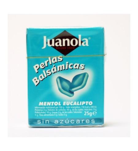 JUANOLA PERLAS MENTOL EUCALIPTO  1 ENVASE 25 G