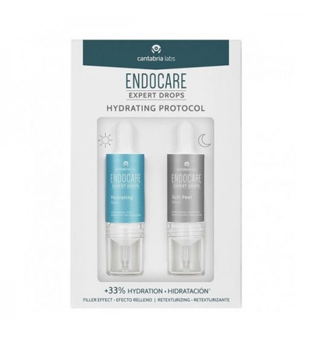 ENDOCARE EXPERT DROPS HYDRATING PROTOCOL  2 ENVASES 10 ML