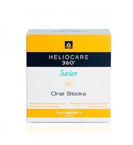 HELIOCARE 360º JUNIOR 20 ORAL STICKS