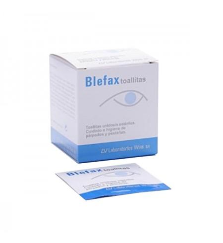 BLEFAX TOALLITAS UNIDOSIS  20 SOBRES 2.5 ML SOLUCION