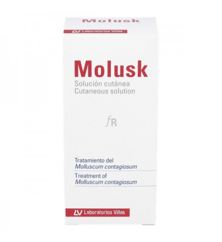 MOLUSK SOLUCION CUTANEA  1 ENVASE 3 G